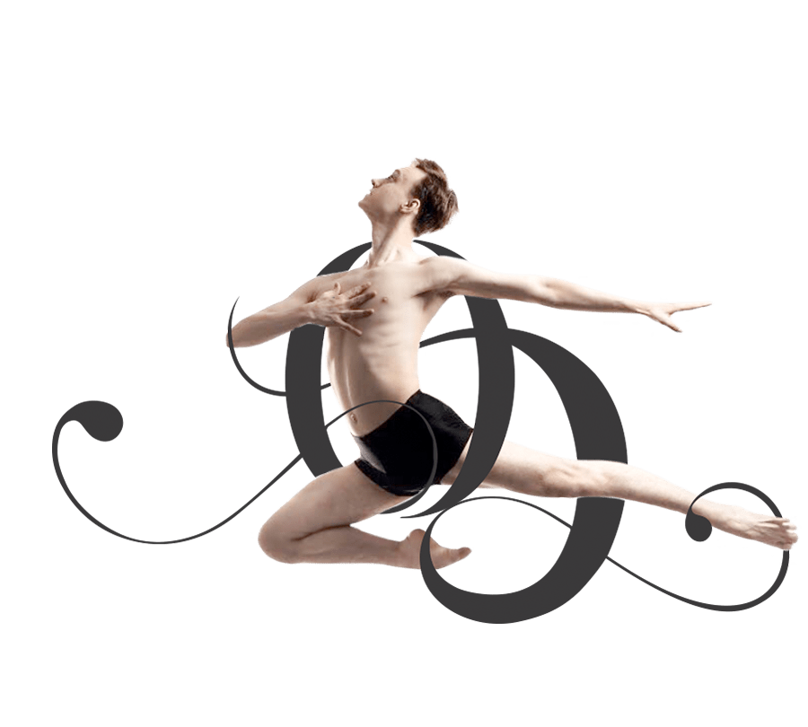 Young Man does ballet